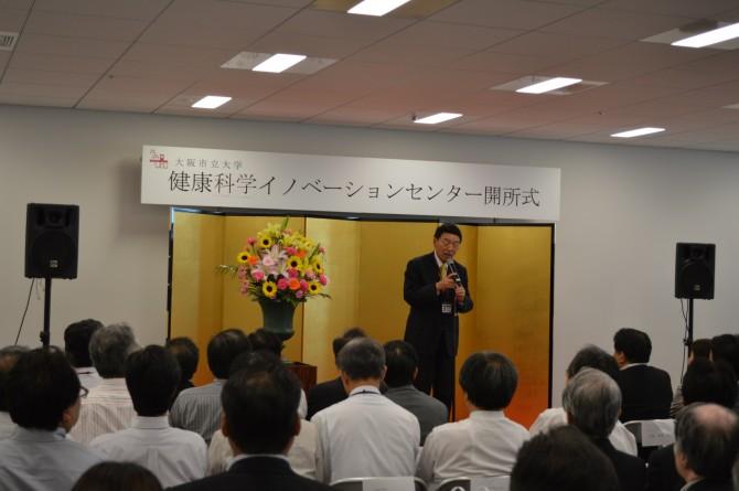 開式のご挨拶(西澤学長・理事長)